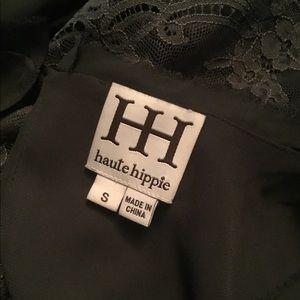 Haute Hippie Dresses - Haute hippie sexy lace mini DRESS szS